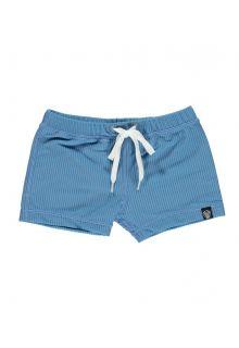 Beach-&-Bandits---UV-Zwemshorts-voor-kinderen---Ribbed---Rifblauw