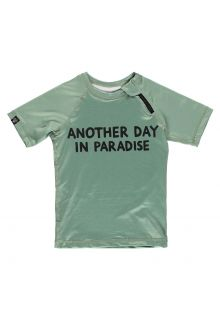 Beach-&-Bandits---UV-Zwemshirt-voor-kinderen---Paradise---Groen