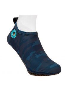 Duukies---Heren-UV-strandsokken---Mens-Army-Blue---Donkerblauw