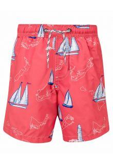 Snapper-Rock---Zwembroek-jongen-Island-Sail---Rood
