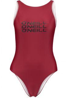 O'Neill---Performance-badpak-voor-vrouwen---Logo---Nairobi-Rood