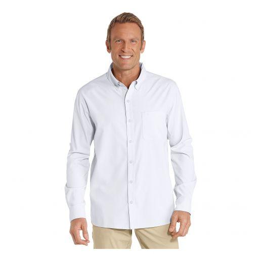Coolibar---UV-Overhemd-voor-heren---Aricia-Sun-Shirt---Wit