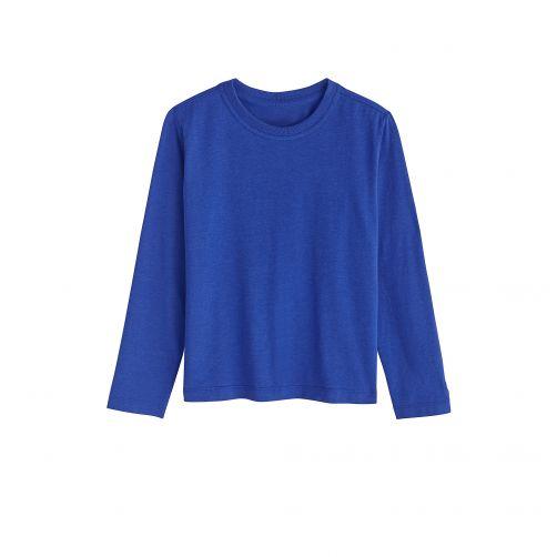 Coolibar---UV-shirt-voor-kinderen-lange-mouwen---Sailor-blauw