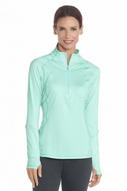 Coolibar---UV-shirt---Mint