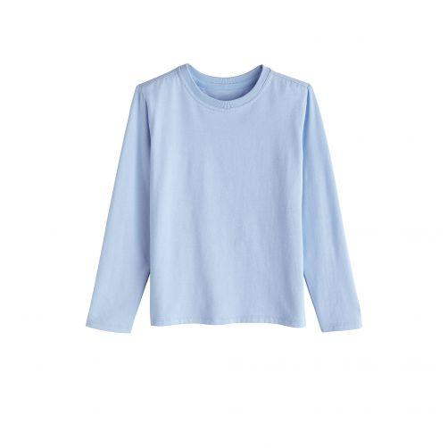 Coolibar---UV-Shirt-voor-kinderen---Longsleeve---Coco-Plum---Vintage-Blauw
