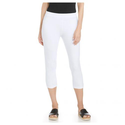 Coolibar---UV-capri-voor-dames---Wit