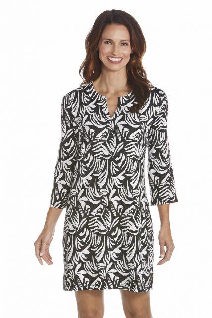 Coolibar---UV-jurk-dames---Zwart