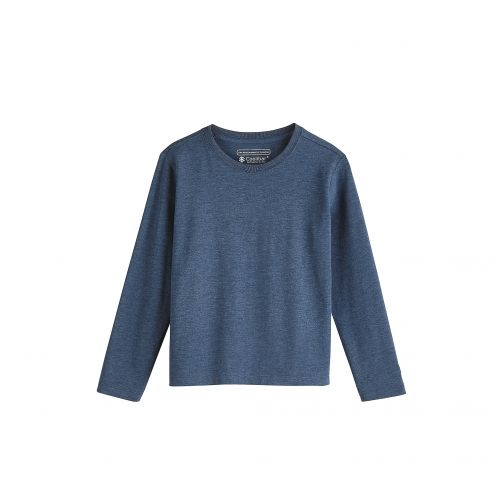 Coolibar---UV-shirt-voor-kinderen---Blauw