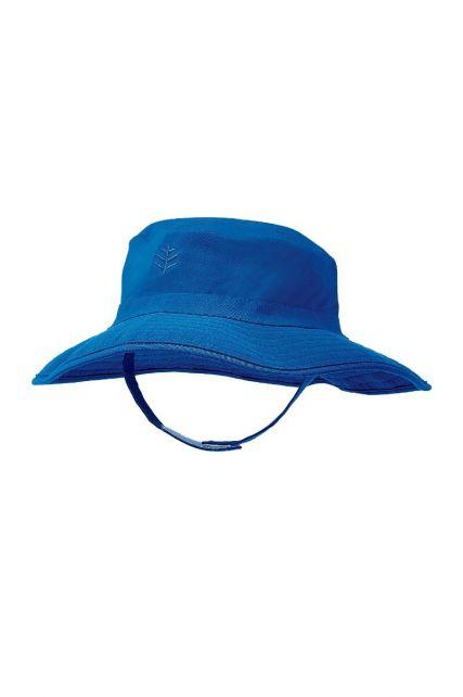 Coolibar---UV-bucket-hoed-voor-baby's---Blue-Wave