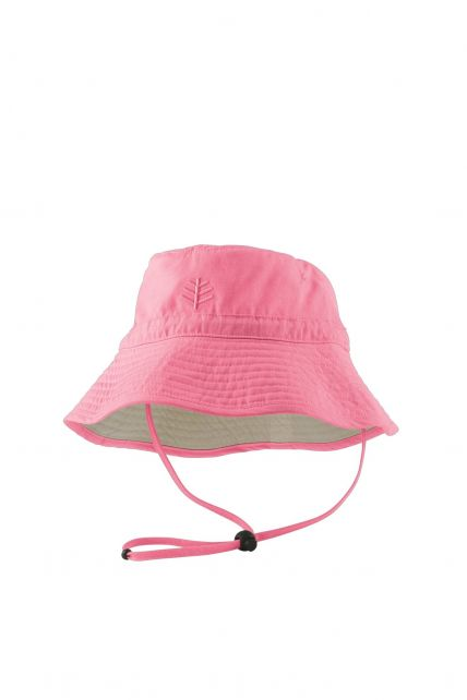 Coolibar---UV-zonnehoed-voor-kinderen---Roze