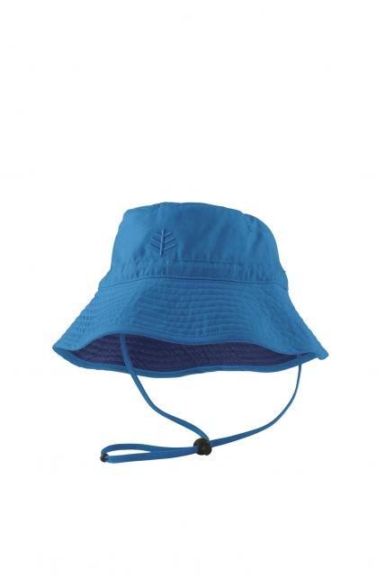 Coolibar---UV-zonnehoed-voor-kinderen---Blauw