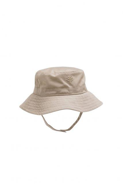 Coolibar---UV-zonnehoed-voor-baby's---Beige