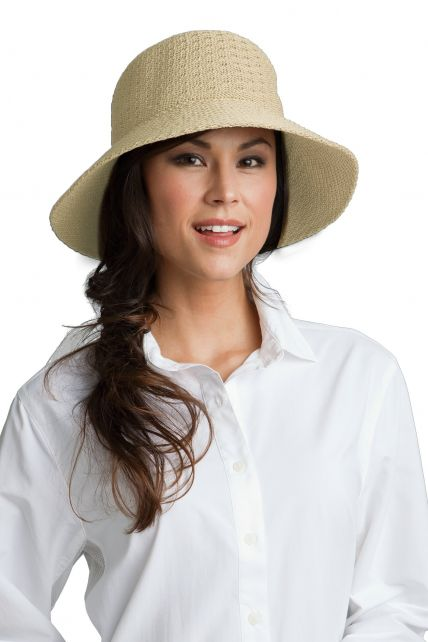 Coolibar---UV-Marina-zonnehoed-voor-dames---Natural