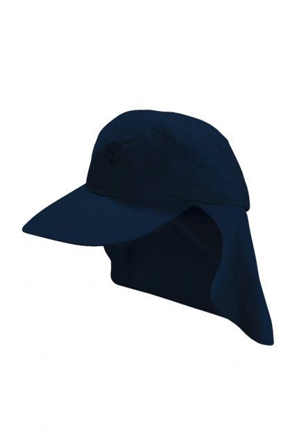 Coolibar---UV-Sportcap-met-nekbescherming-voor-kinderen---Alex---Navy