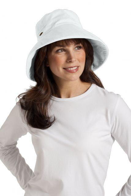 Coolibar---UV-hoed-dames---Wit