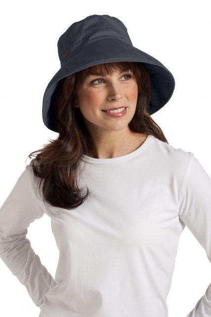 Coolibar---UV-hoed-dames---Grijs