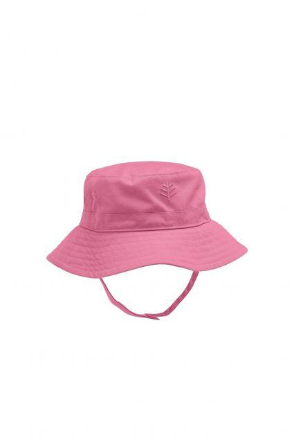 Coolibar---UV-zonnehoed-voor-baby's---Roze