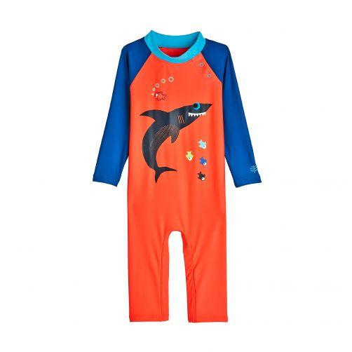 Coolibar---UV-zwempakje-voor-baby's---Sneaky-Shark