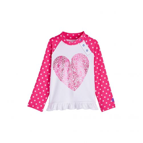Coolibar---UV-zwemshirt-voor-baby's-en-peuters---Floral-Heart