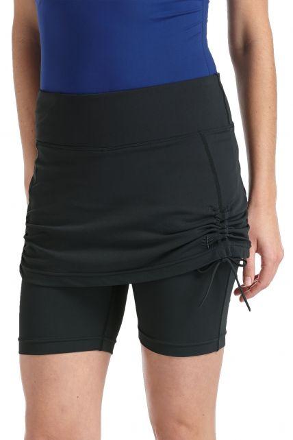 Coolibar---UV-rokje-met-broekje-dames---zwart