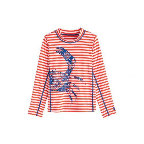 Coolibar---UV-zwemshirt-voor-kinderen---Blue-Crab