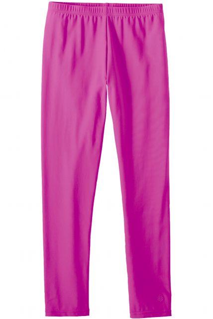 Coolibar---UV-zwemlegging-voor-meisjes---Roze