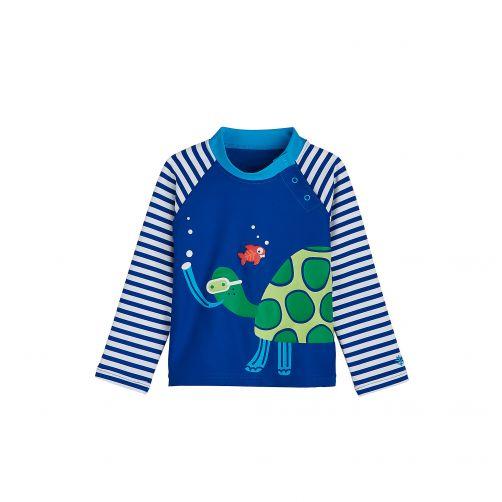 Coolibar---UV-zwemshirt-voor-baby's---Snorkling-Sea-Turtle
