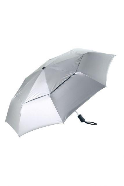 Coolibar---UV-werende-Paraplu---Sodalis-Travel---Zilver