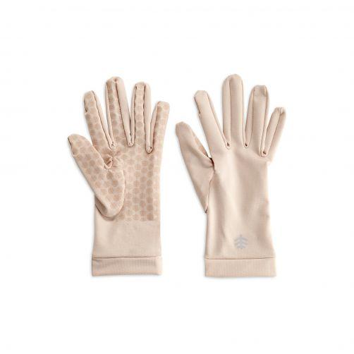 Coolibar---UV-werende-handschoenen-voor-volwassenen---Sawyer---Beige