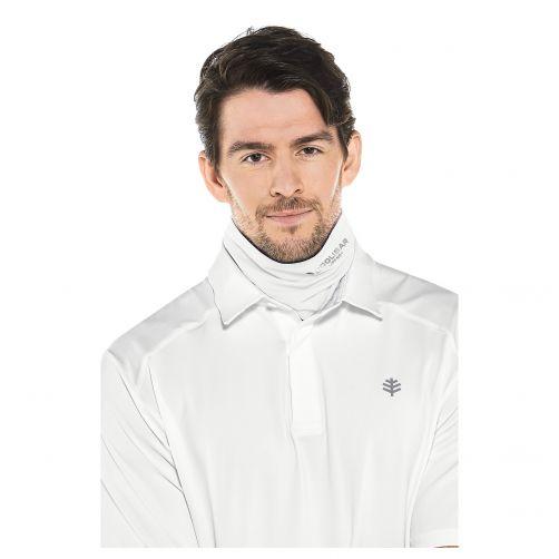 Coolibar---UV-werende-sjaal-voor-volwassenen---Virasana---Wit