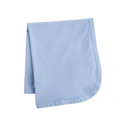Coolibar---UV-werende-zonnedeken-voor-baby's---Batibou---Vintage-Blauw