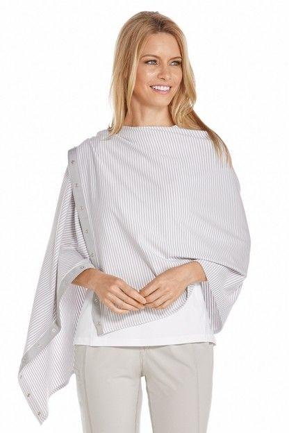 Coolibar---UV-beschermende-omkeerbare-sjaal---Gestreept