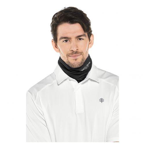 Coolibar---UV-werende-sjaal-voor-volwassenen---Virasana---Zwart
