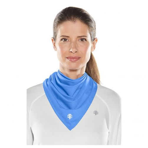 Coolibar---UV-beschermende-bandana---Helderblauw