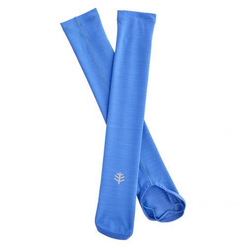 Coolibar---UV-armbescherming-voor-kinderen---blauw
