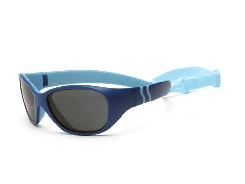 Real-Kids-Shades---UV-zonnebril-voor-baby's---Royal-blauw-/-lichtblauw