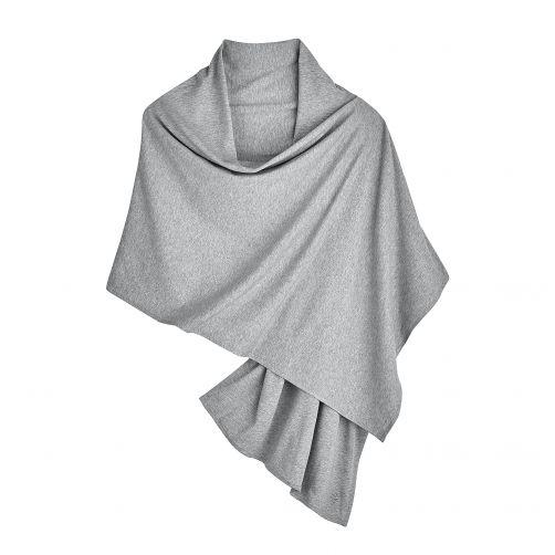 Coolibar---UV-sjaal-voor-dames---grijs