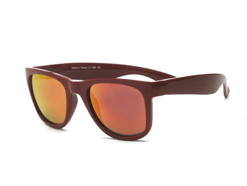 Real-Shades---UV-zonnebril---Unisex---Waverunner---Zwart-/-rood