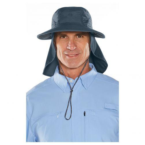 Coolibar---UV-hoed-voor-dames-en-heren---donkerblauw