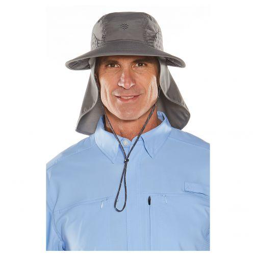 Coolibar---UV-hoed-voor-dames-en-heren---grijs