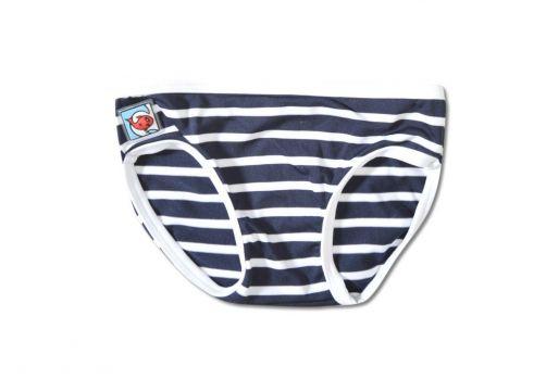 Little-Red-Fish---bikini-broekje---Blue/White-Stripes