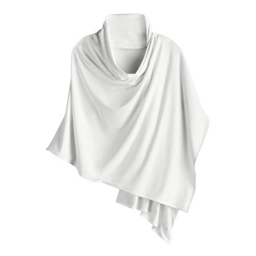 Coolibar---UV-sjaal-voor-dames---wit