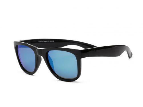 Real-Shades---UV-zonnebril---Unisex---Zwart-/-blauw-wit