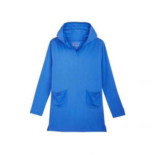 Coolibar---UV-jurkje-voor-meisjes---blauw