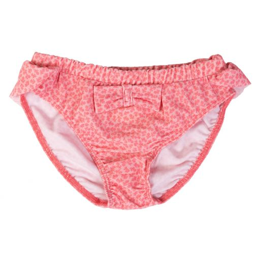 Petit-Crabe---UV-werend-bikinibroekje---Bloemen---Roze