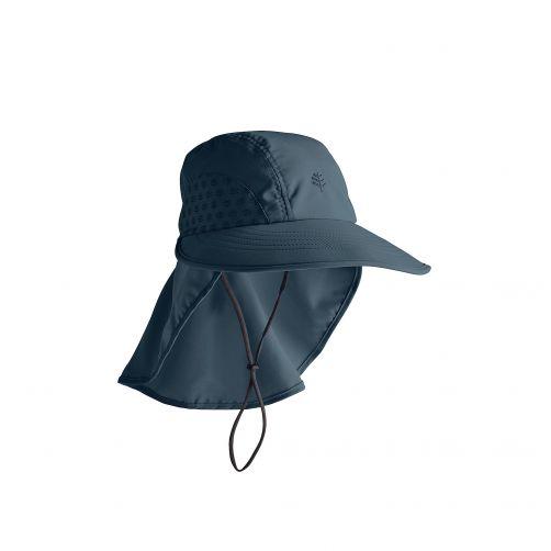 Coolibar---UV-hoed-voor-kinderen---donkerblauw
