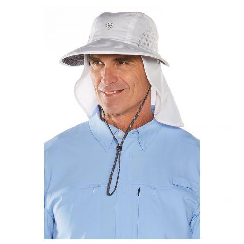 Coolibar---UV-hoed-voor-dames-en-heren---wit