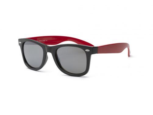 Real-Shades---UV-zonnebril-voor-volwassenen---Swag---Zwart-/-rood