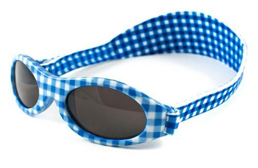 KidsBanz---UV-zonnebril---blauw-ruit