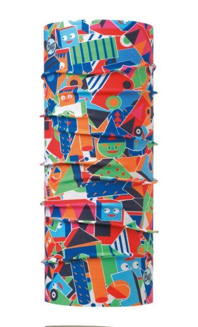 Buff---Baby's-UV-sjaal-buis---Coolmax®---Multicolor
